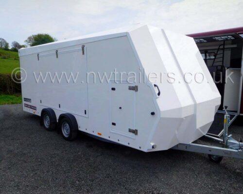 Race Sport Car Transporter
