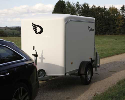 Debon Box Van Trailer C255
