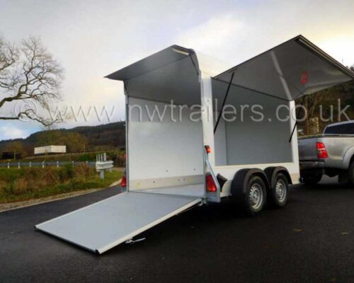 Debon C500 Trailer with Side Hatch