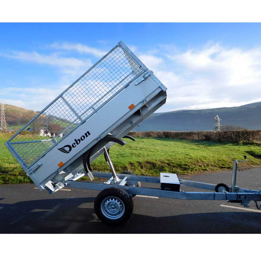Tipper Trailer for Hire